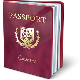 Passport Purple Icon 256x256