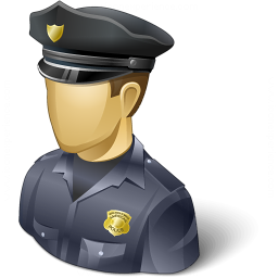Policeman Usa Icon 256x256