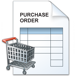 Purchase Order Cart Icon 256x256