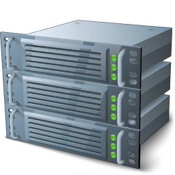 Rack Servers Icon 256x256