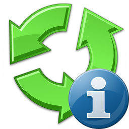 Recycle Information Icon 256x256