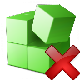 Registry Delete Icon 256x256