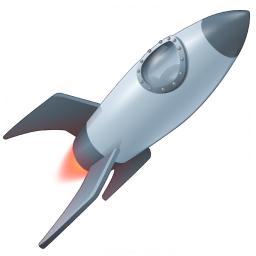Iconexperience V Collection Rocket Icon