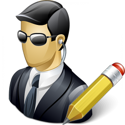 Security Agent Edit Icon 256x256