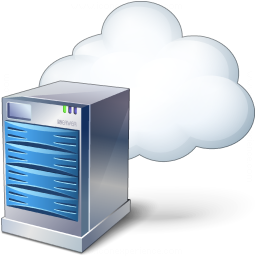iconexperience v collection server cloud icon