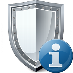Shield Information Icon 256x256