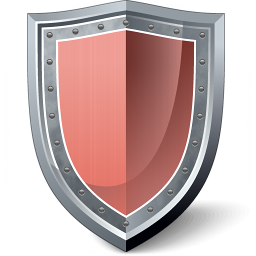 Shield Red Icon 256x256