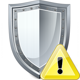 Shield Warning Icon 256x256