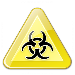 Sign Warning Biohazard Icon 256x256