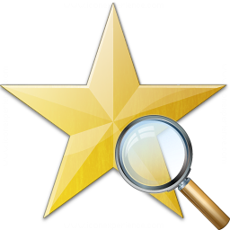 Star Yellow View Icon 256x256