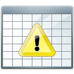 Table 2 Warning Icon 256x256