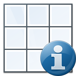 Table Information Icon 256x256