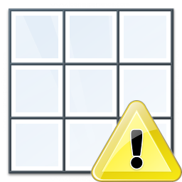 Table Warning Icon 256x256