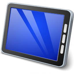 Tablet Computer Icon 256x256