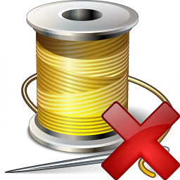 Thread Delete Icon 256x256