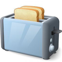 Iconexperience V Collection Toaster Icon