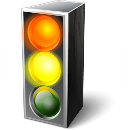 Trafficlight Red Yellow Icon 256x256