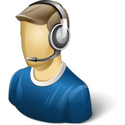 User Headset Icon 256x256