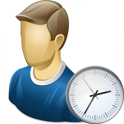 User Time Icon 256x256