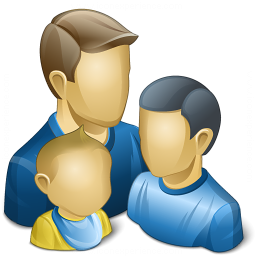 Users Family Icon 256x256