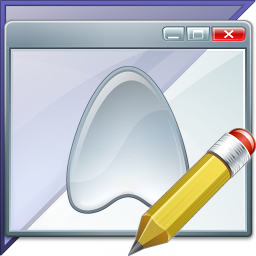 Window Application Enterprise Edit Icon 256x256