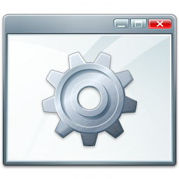 Iconexperience V Collection Window Gear Icon