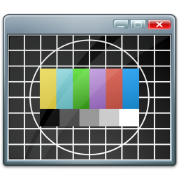 Window Test Card Icon 256x256