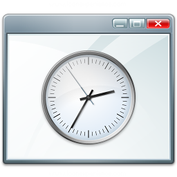 Window Time Icon 256x256