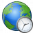Earth Time Icon