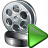Movie Run Icon