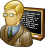 Teacher Blackboard Icon