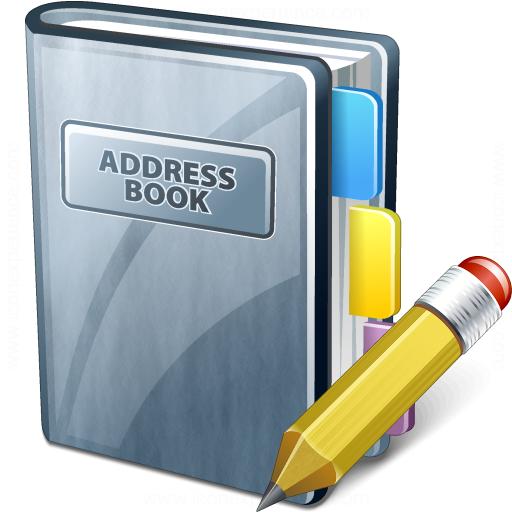 Go Back > Gallery For > Address Book Clip Art