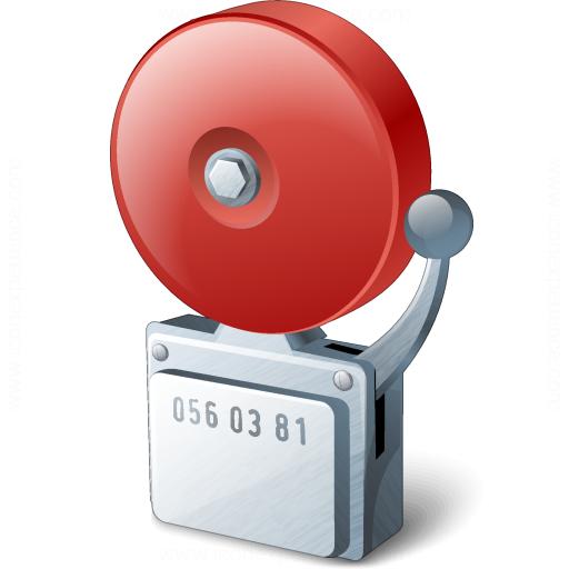 iconexperience v collection alarm icon