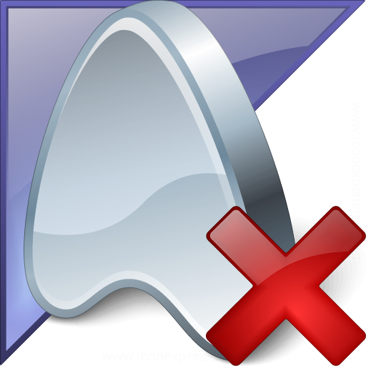 Application Enterprise Delete Icon