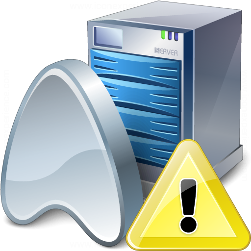 Application Server Warning Icon 512x512