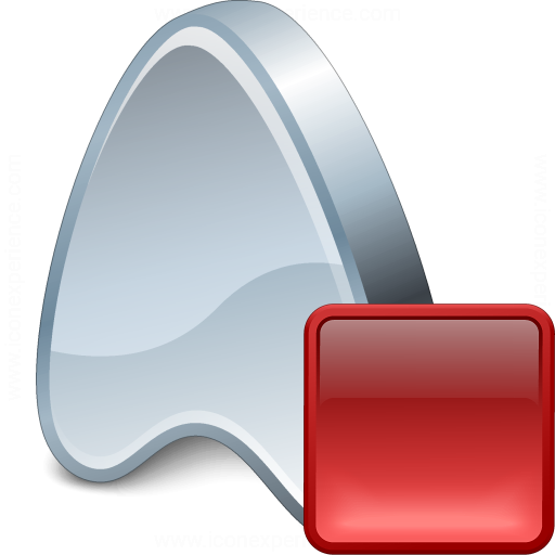 Application Stop Icon
