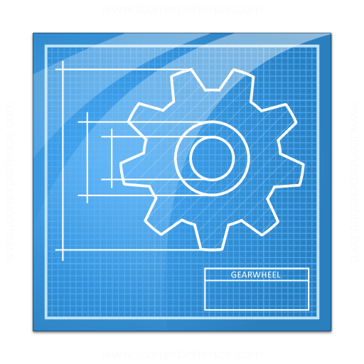 Iconexperience 187 V Collection 187 Blueprint Icon