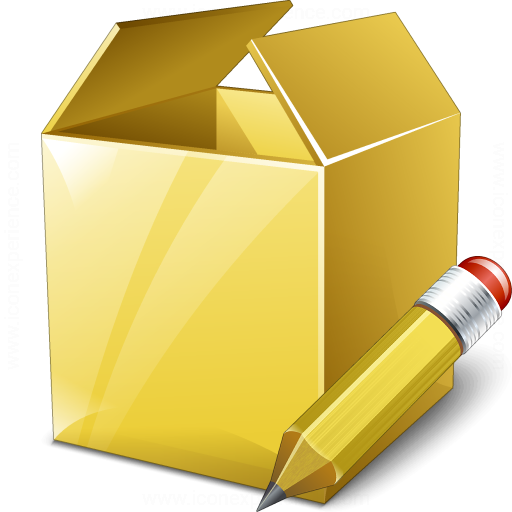 Box Edit Icon