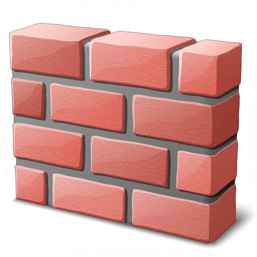 Iconexperience 187 V Collection 187 Brickwall Icon