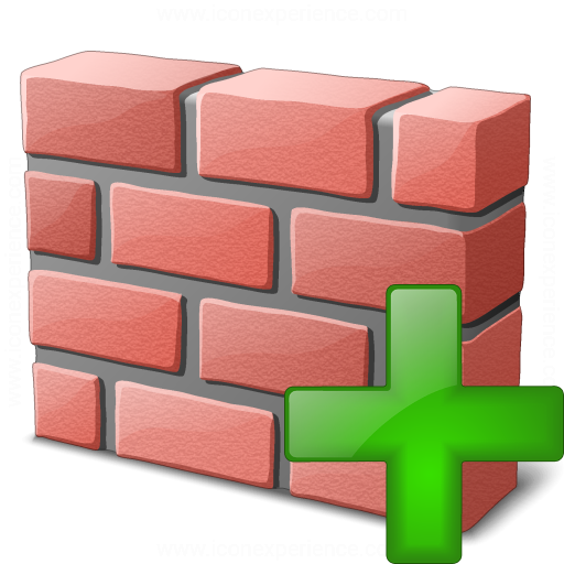 Brickwall Add Icon