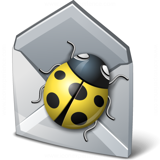 Bug Mail Icon