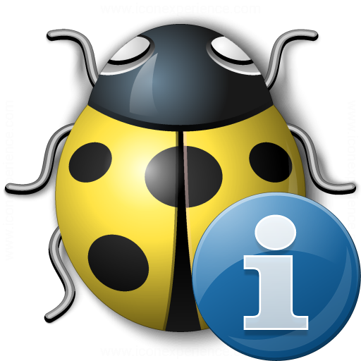 Bug Yellow Information Icon