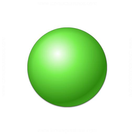 IconExperience » V-Collection » Bullet Ball Green Icon: https://www.iconexperience.com/v_collection/icons/?icon=bullet_ball...