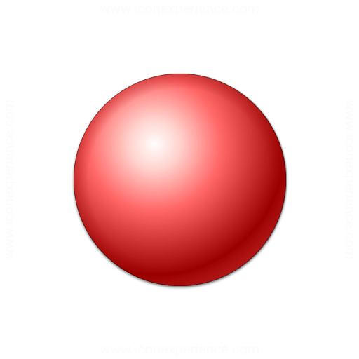Bullet Ball Red Icon