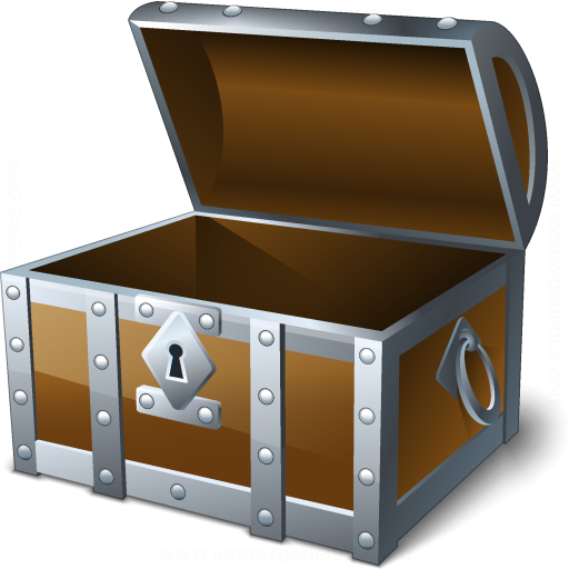 iconexperience  u00bb v collection  u00bb chest open empty icon treasure box clipart free treasure box images clipart