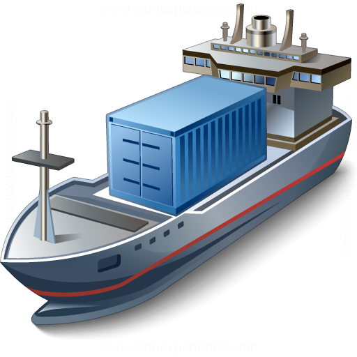 Iconexperience 187 V Collection 187 Containership Icon