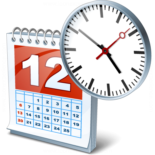 Iconexperience 187 V Collection 187 Date Time Icon