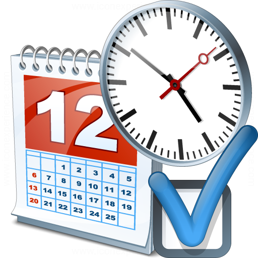IconExperience » V-Collection » Date Time Preferences Icon