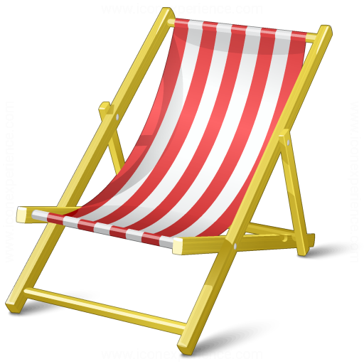 iconexperience  u00bb v collection  u00bb deck chair icon beach chair clipart for silhouette beach chair clipart overlay