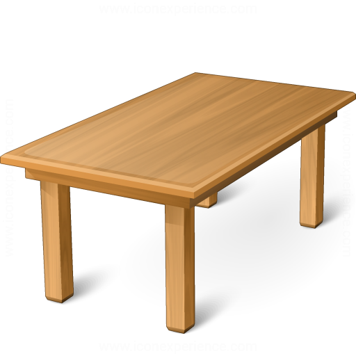 IconExperience » V-Collection » Dining Table Icon